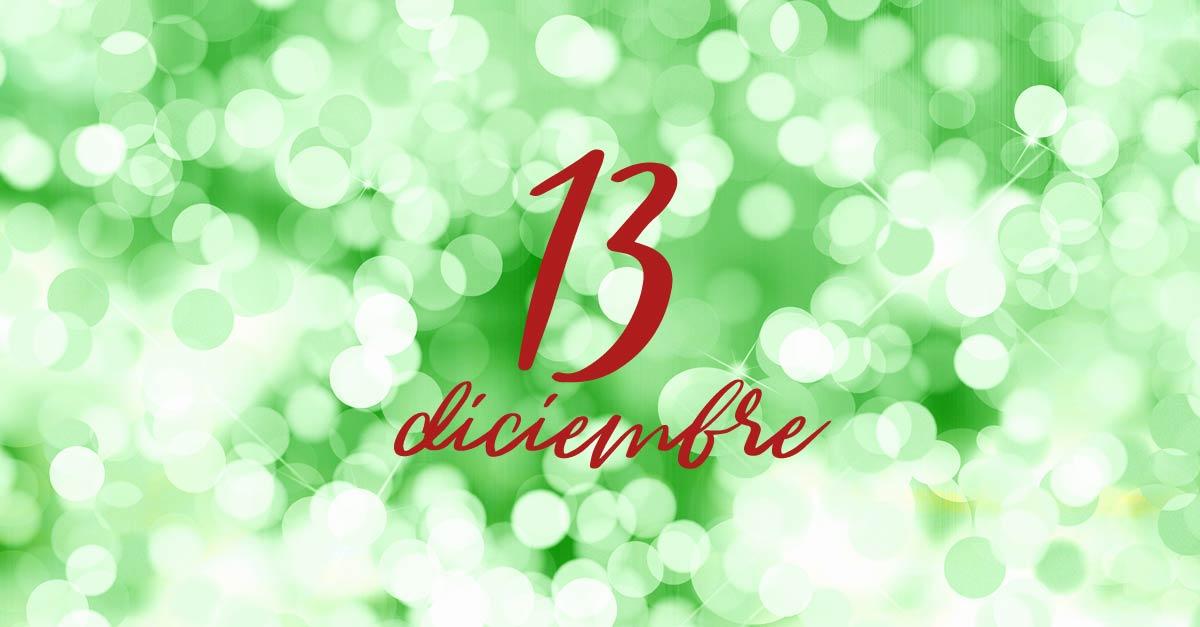 13 diciembre