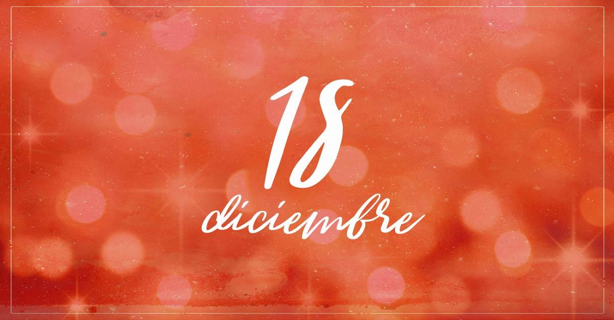 18 diciembre