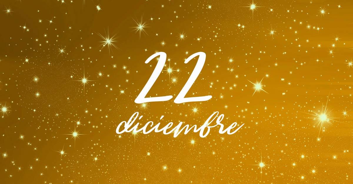 22 diciembre