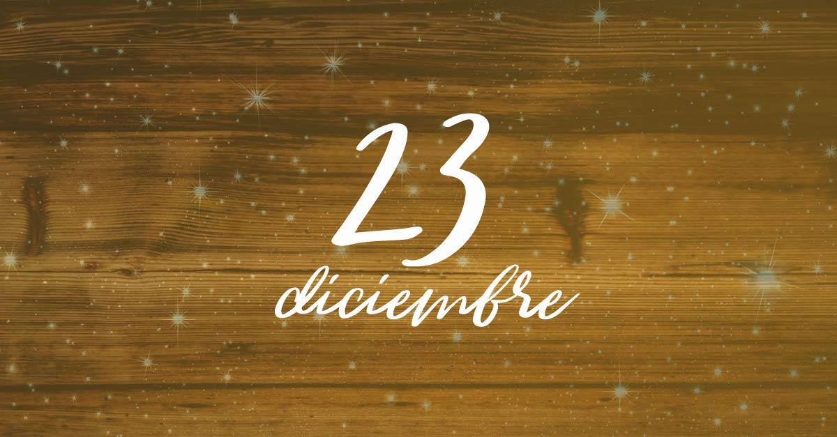 23 diciembre